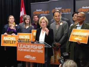 NDP's Notley says they want to ask for more from big corporations, not from regular Albertans