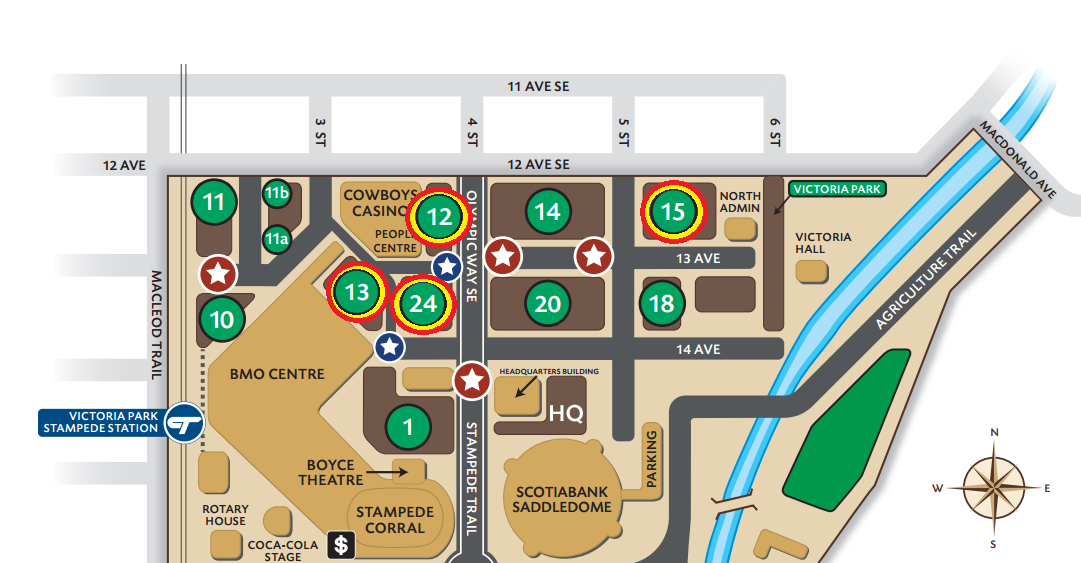 North Stampede parking lots open for the Calgary Flames Playoffs