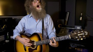 Ben Caplan, a Nova Scotia musician, is seen in Halifax on Wednesday, March 6, 2013. Caplan runs his career as a small business and takes responsibility for marketing, promoting and controlling his artistic expression. THE CANADIAN PRESS/Andrew Vaughan