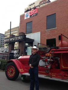 Mike Carter, president of the Calgary Firefighters Association, jokingly told 660News the group of five males and one female firefighter 'almost' have the amenities of home on top of Brewster's on 11th Avenue SW.