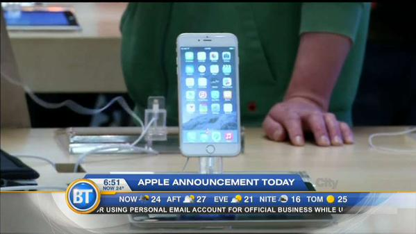 apple iphone announcement apple is expected to announce a new iphone on wednesday 10107