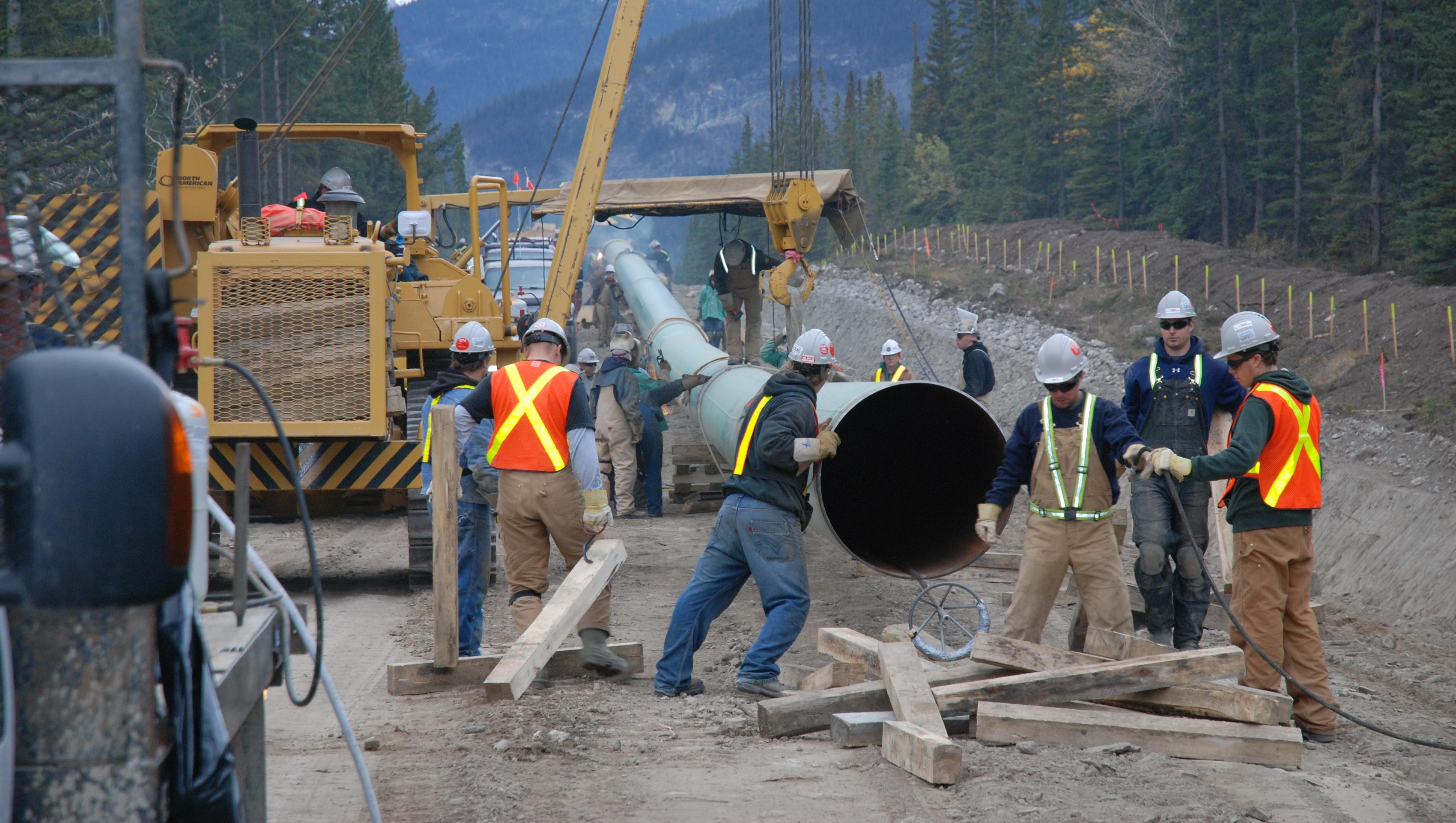 The Trans Mountain Pipeline Courtesy Transmountain Com
