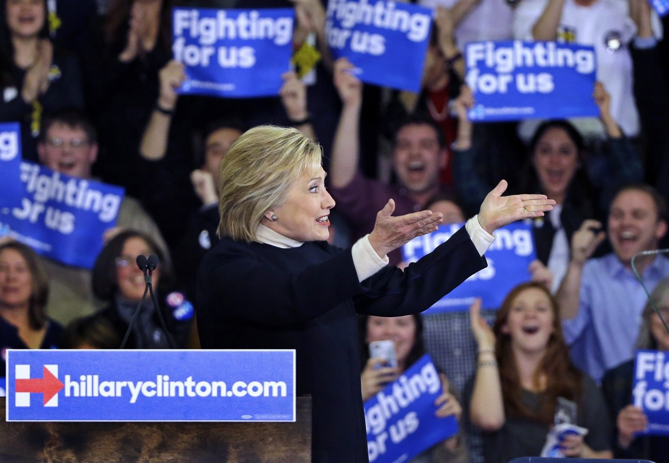 ... new hampshire presidential primary campaign rally tuesday feb 9 2016