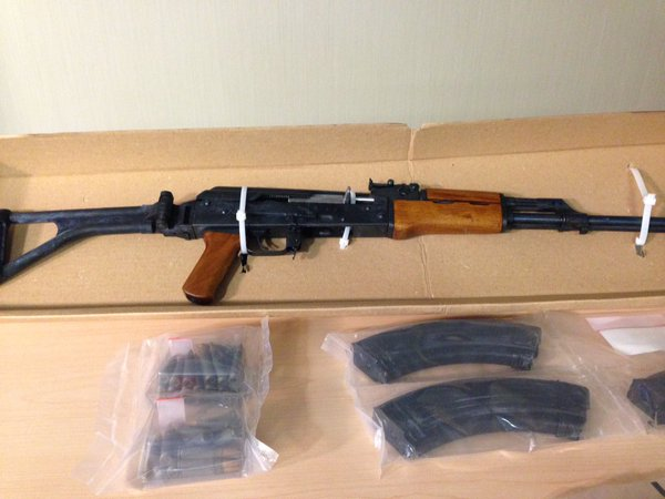CPS seize AK-47 rifle in alarming drug bust - 660 NEWS