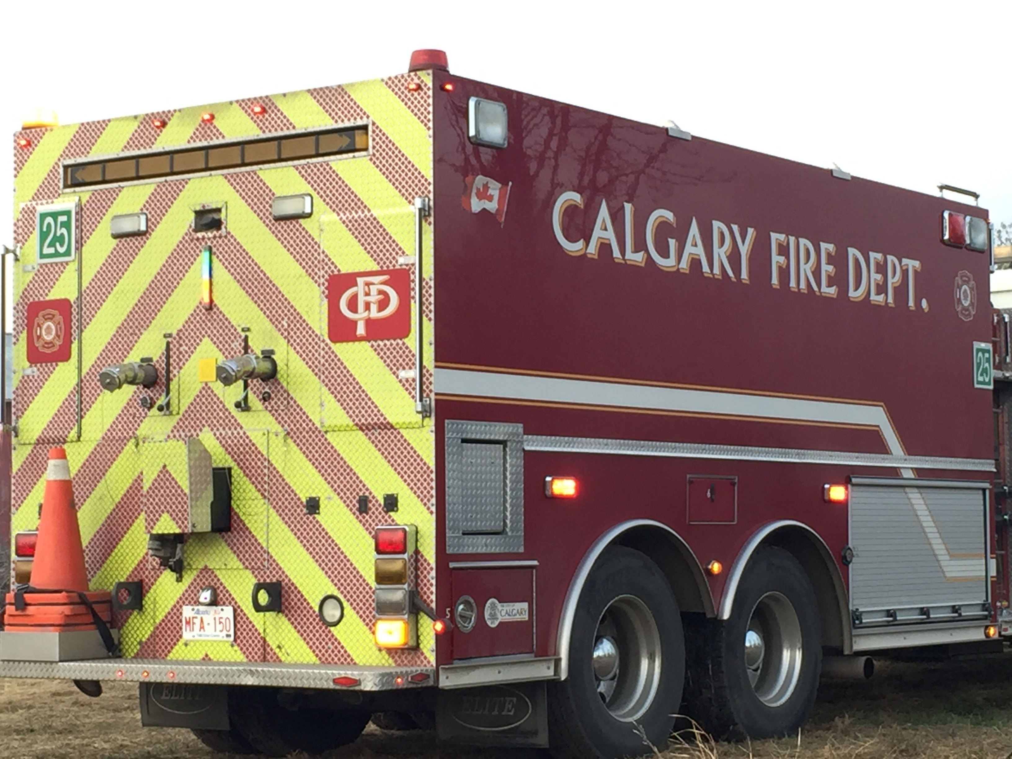 Crews are mopping up after a blaze at a southeast pub.