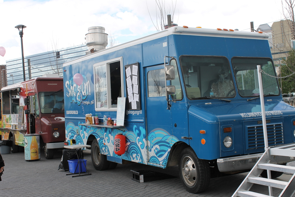 Food Trucks Calgary East Village