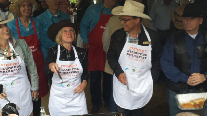Alberta Premier Notley Notley unfussed with unite-the-right 'do-si-do'