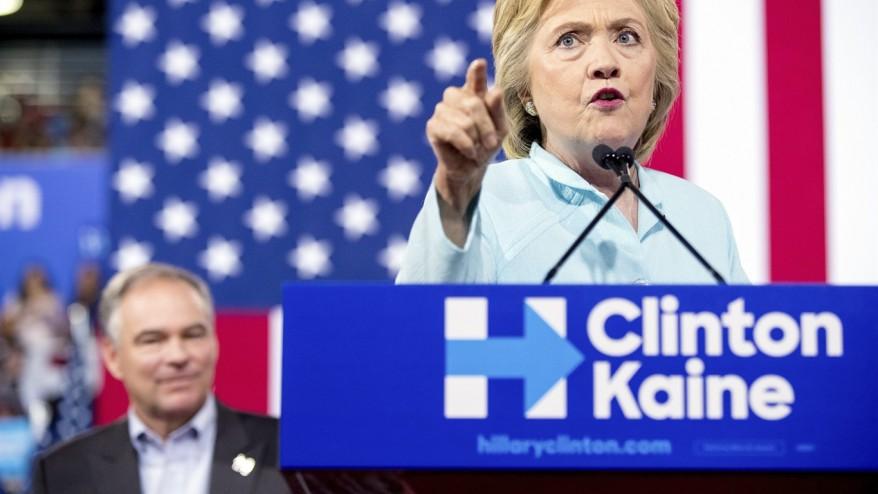 Bernie Sanders heaps his most vigorous priase on Hillary Clinton