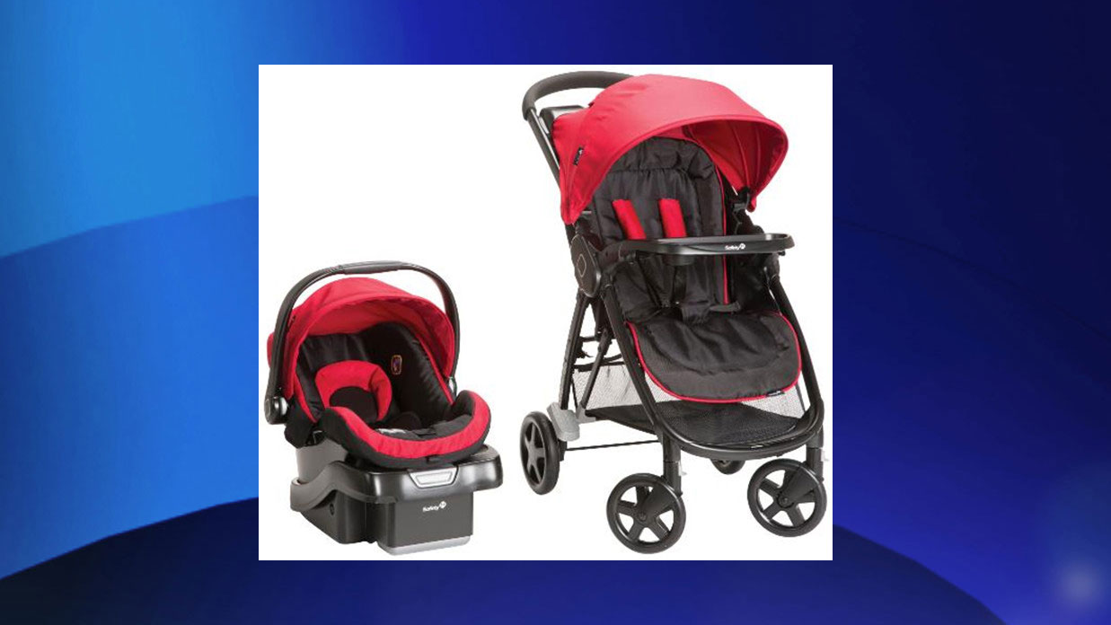 Strollers being recalled for potential fall hazard