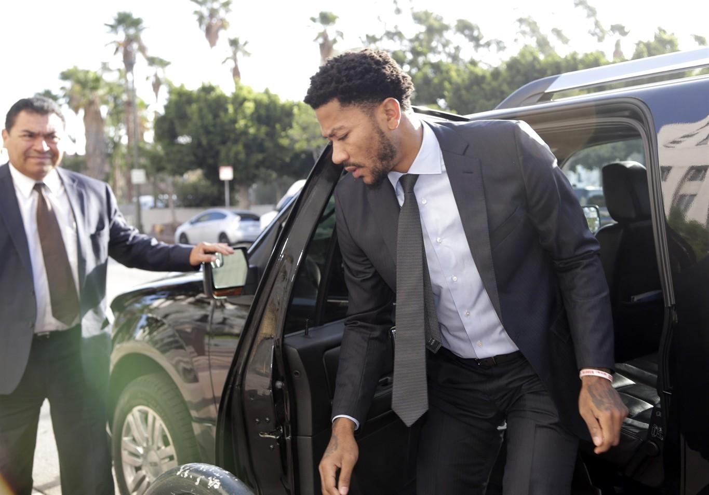 Rape case against NBA Knicks star Rose dismissed