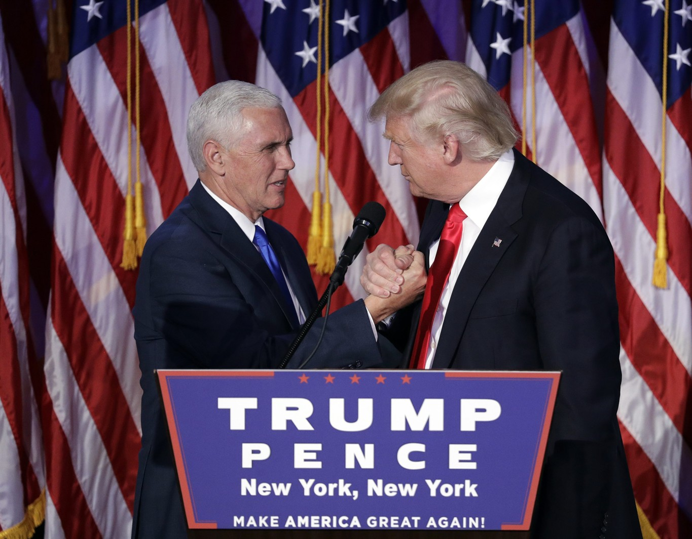 What does 'Trump Pence' mean? Mike Pence is confusing the world