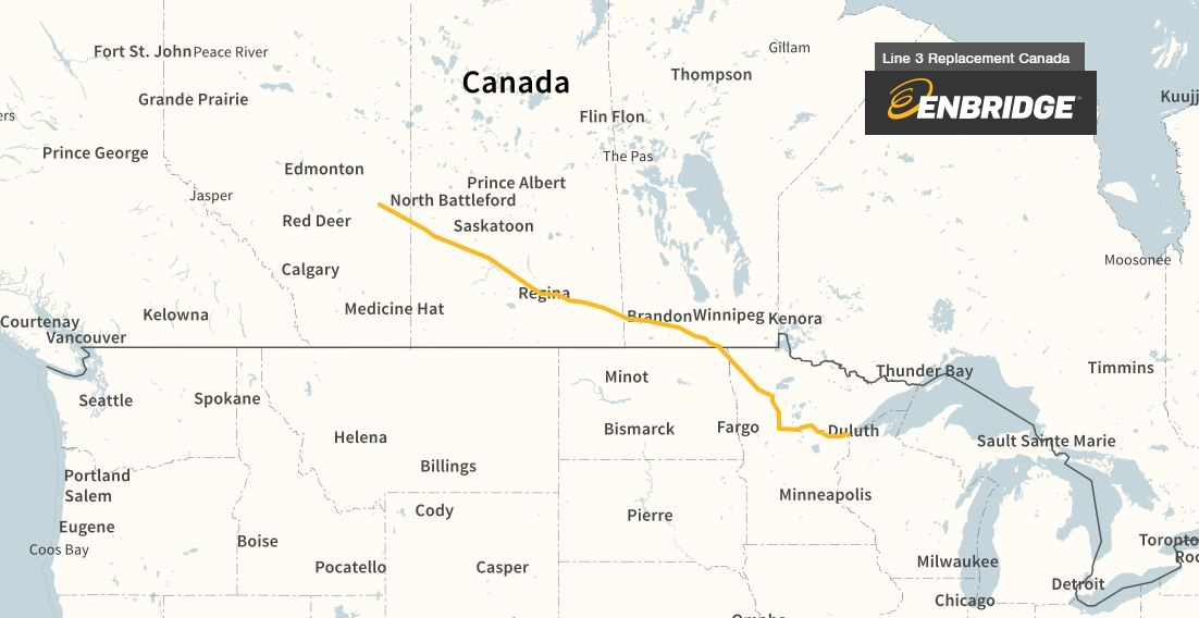 Quickfacts: What you need to know about Enbridge's Line 3 pipeline project
