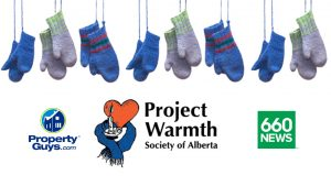 Clothing Drive for Project Warmth
