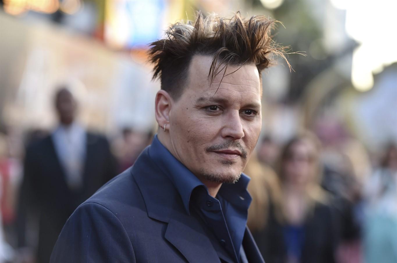 Surprise! Johnny Depp ...