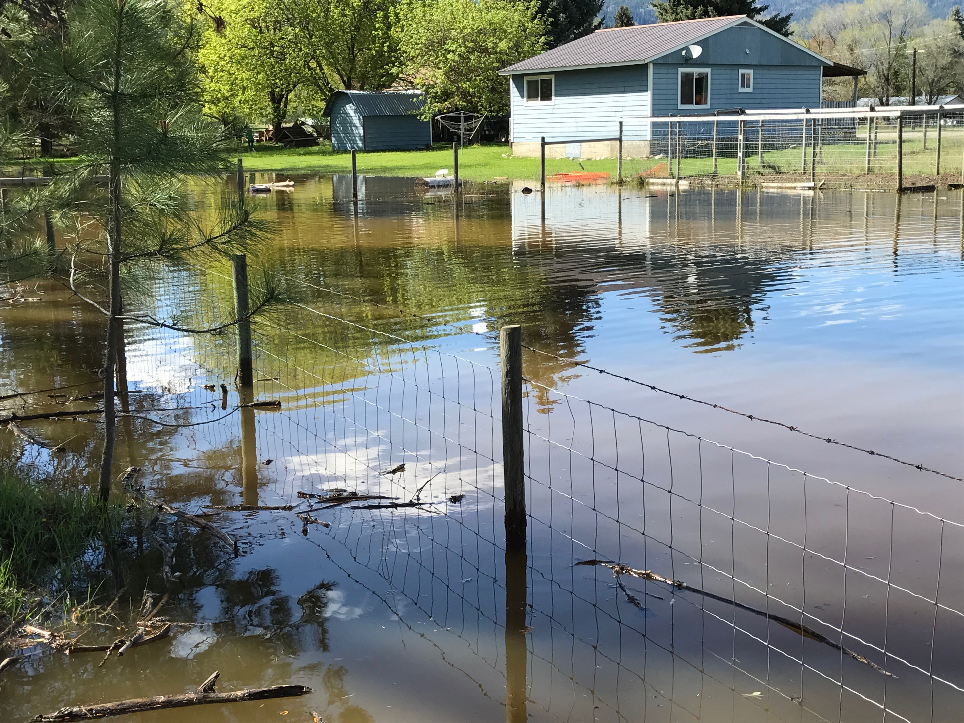 Evacuation order issued due to possible creek flooding in Fintry Delta