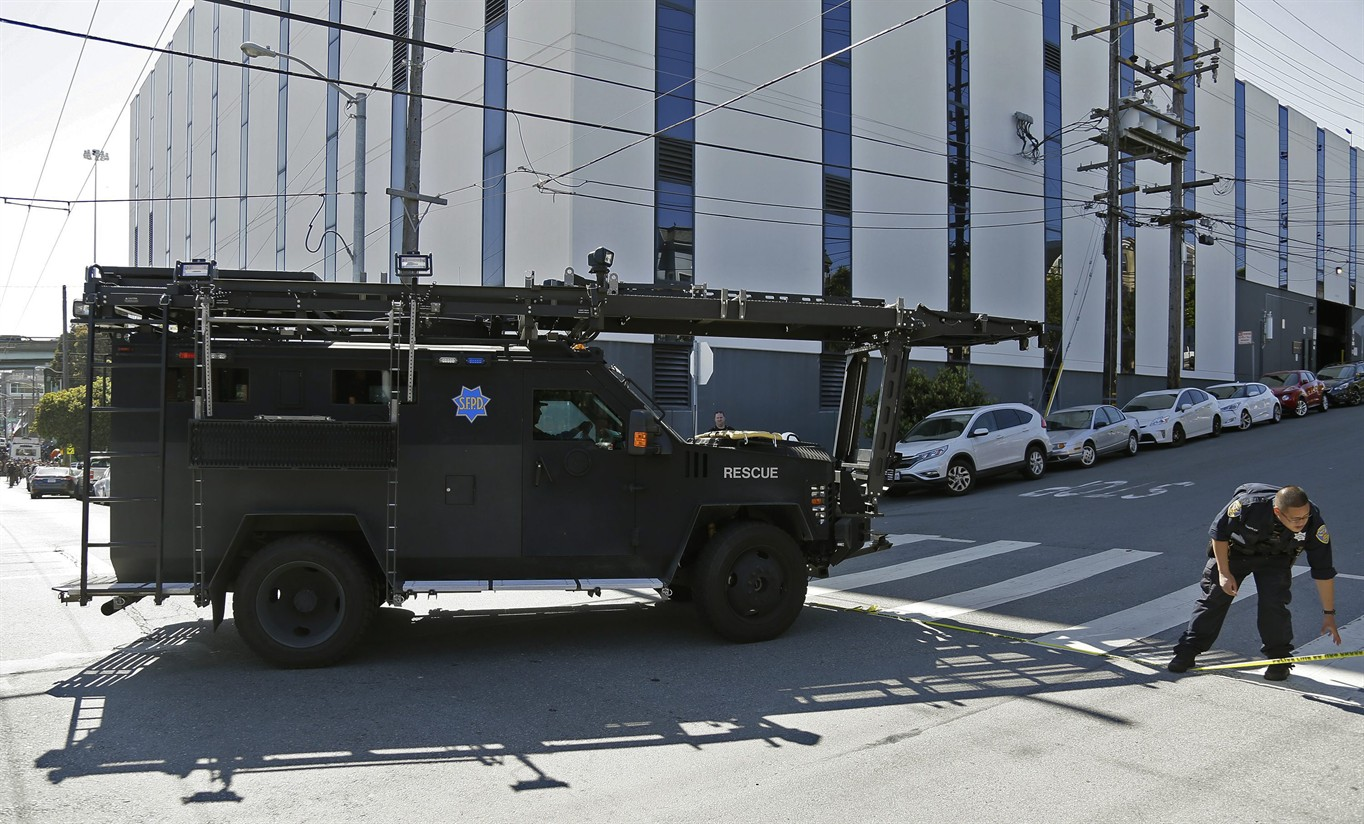 Shooting at San Francisco UPS center, police say