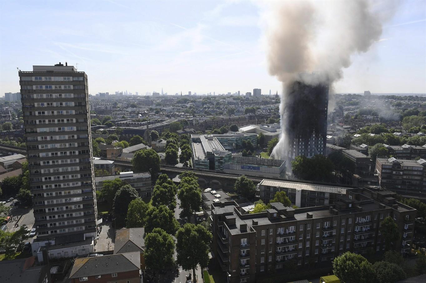London fire: Several dead, 50 taken to hospital