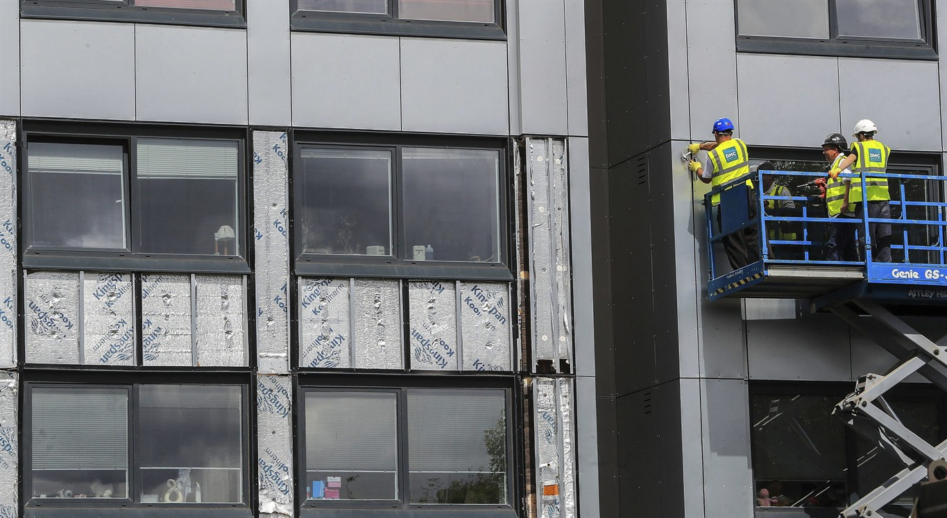 Cladding tests in seven tower blocks by Swansea Council