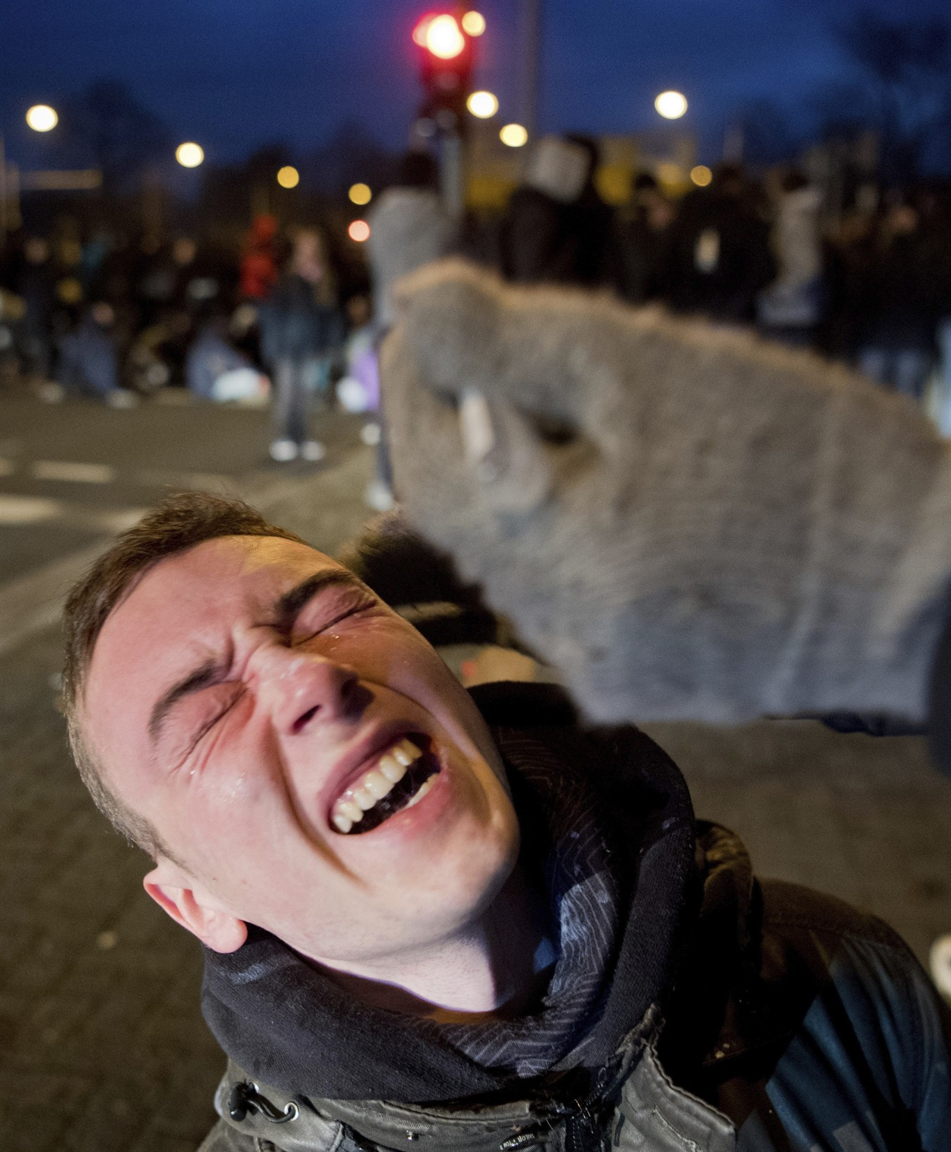 Alternative for Germany: Police and protesters clash over meeting