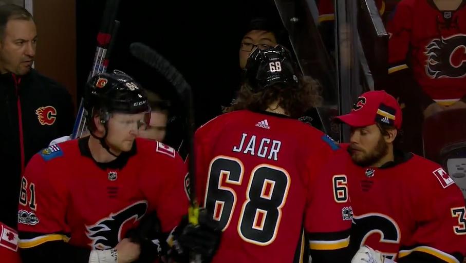 new styles 6ece8 03171 Jaromir Jagr in talks to leave the Calgary Flames: Sportsnet ...