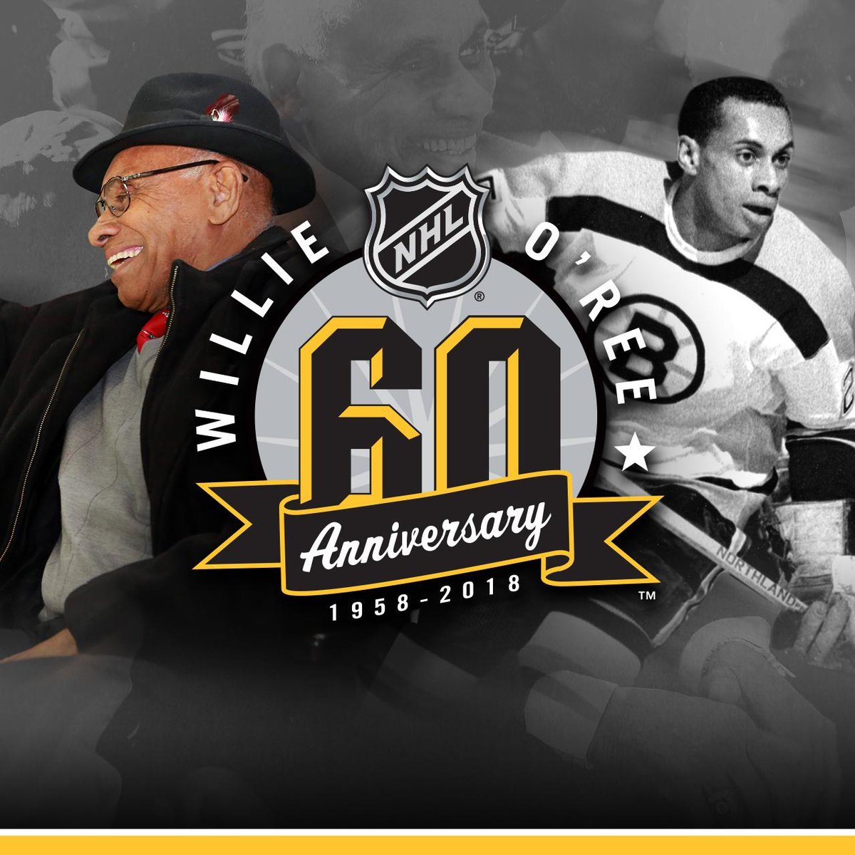 60th anniversary of Willie O'Ree's groundbreaking NHL ...