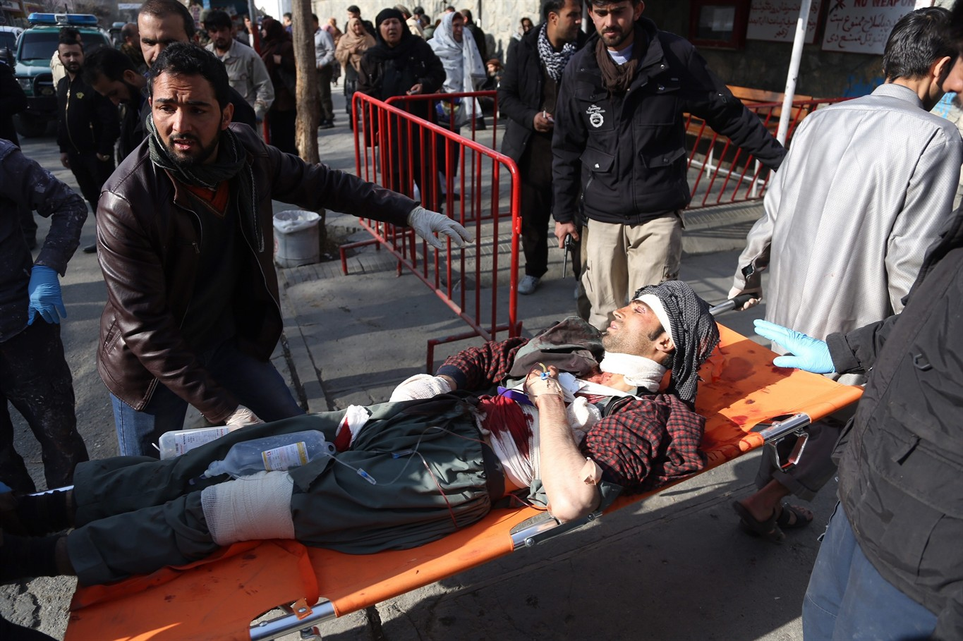 Attacker driving ambulance packed with explosives kills 40 in Kabul