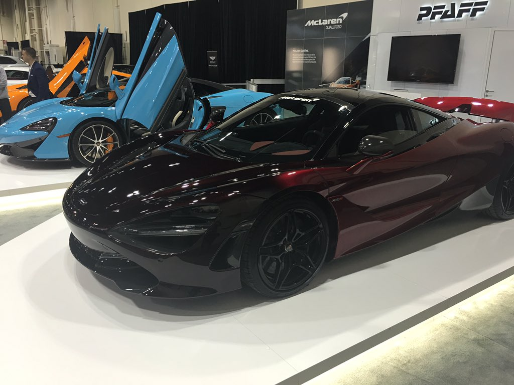 From Lamborghini To Ram Technology Shines At Calgary Auto And Truck