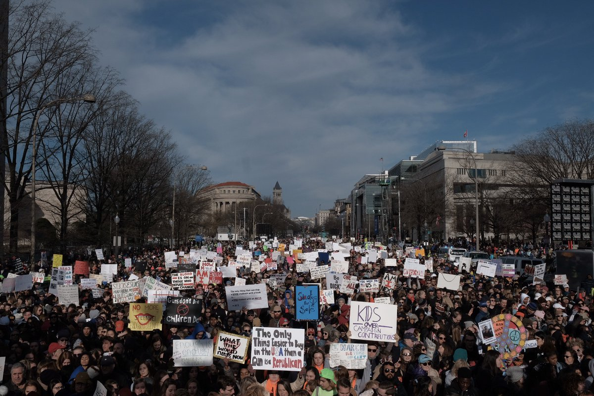 Will March For Our Lives Change Attitudes Around Gun Violence?