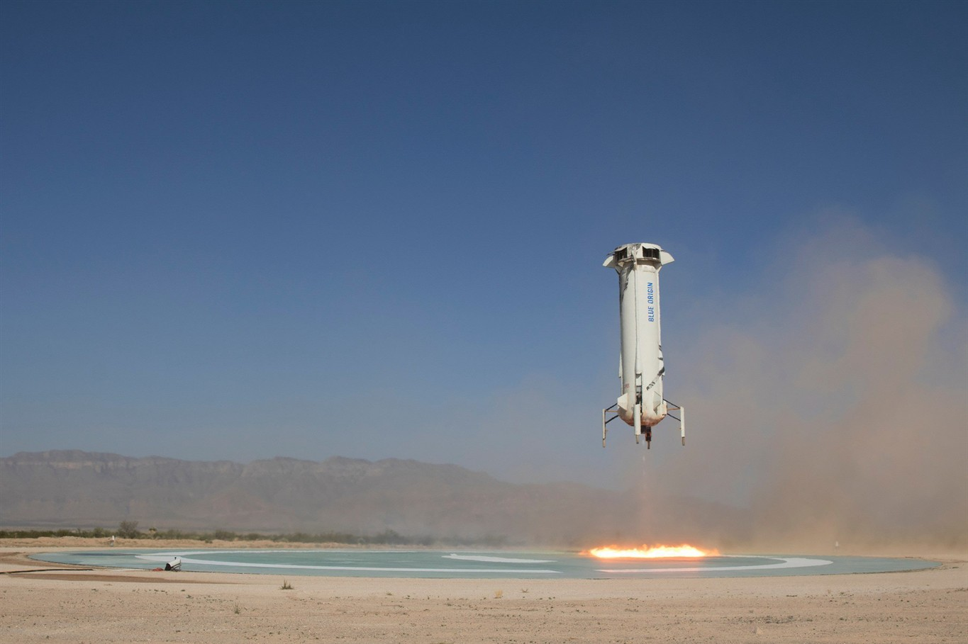 Blue Origin subjects its rocket to high-altitude escape test