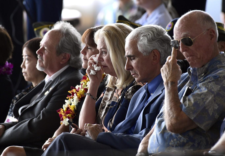 Pence welcomes return of presumed Korean War dead