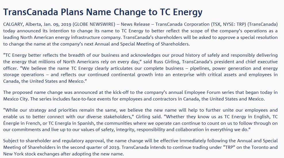tc energy - 660 NEWS