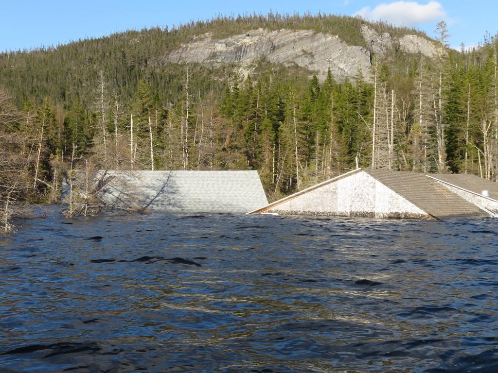 Western Newfoundland's Bottomless Pond appears to have a