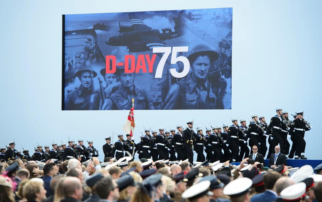 75th Anniversary D Day Website