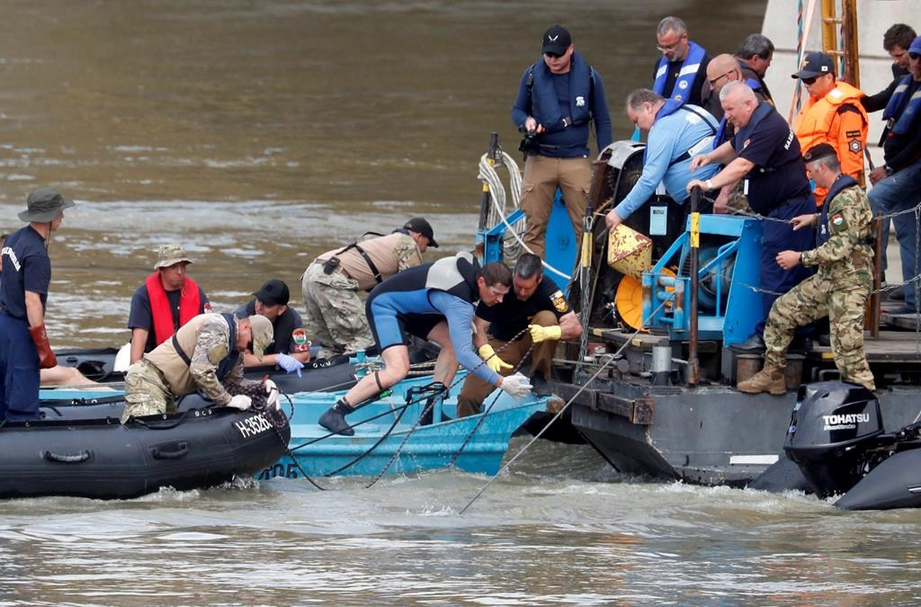 2 bodies found in Danube are South Koreans from sunken boat