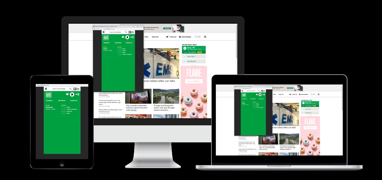 660 NEWS Web Player
