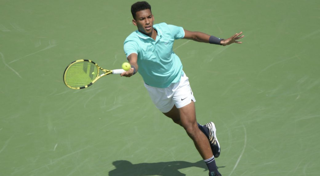 Auger-Aliassime wins, Kyrgios falls at Rogers Cup | AP sports