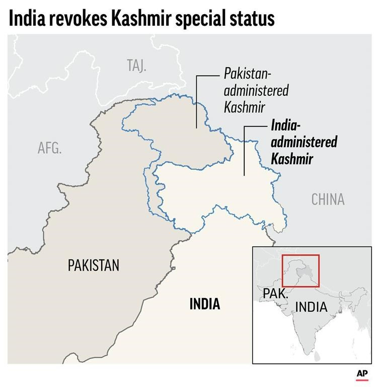 India redraws political map on Kashmir, raising tensions - 660 NEWS