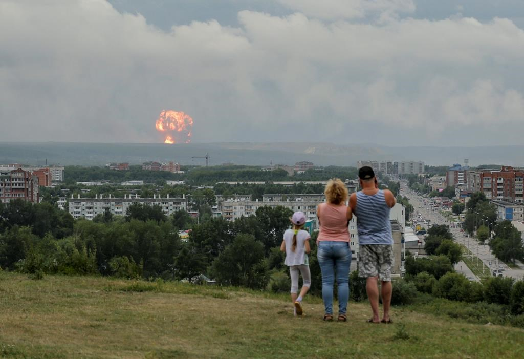 Russian military says 2 dead, 6 injured by rocket explosion - 660 NEWS