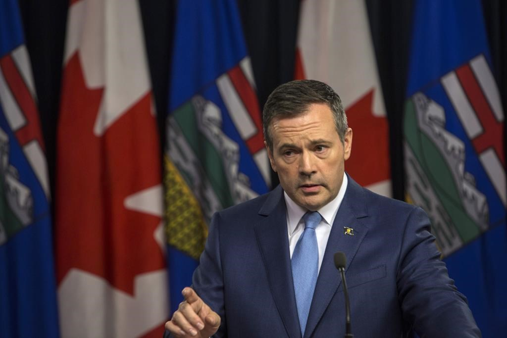 Alberta premier opens war room to promote truth about energy industry