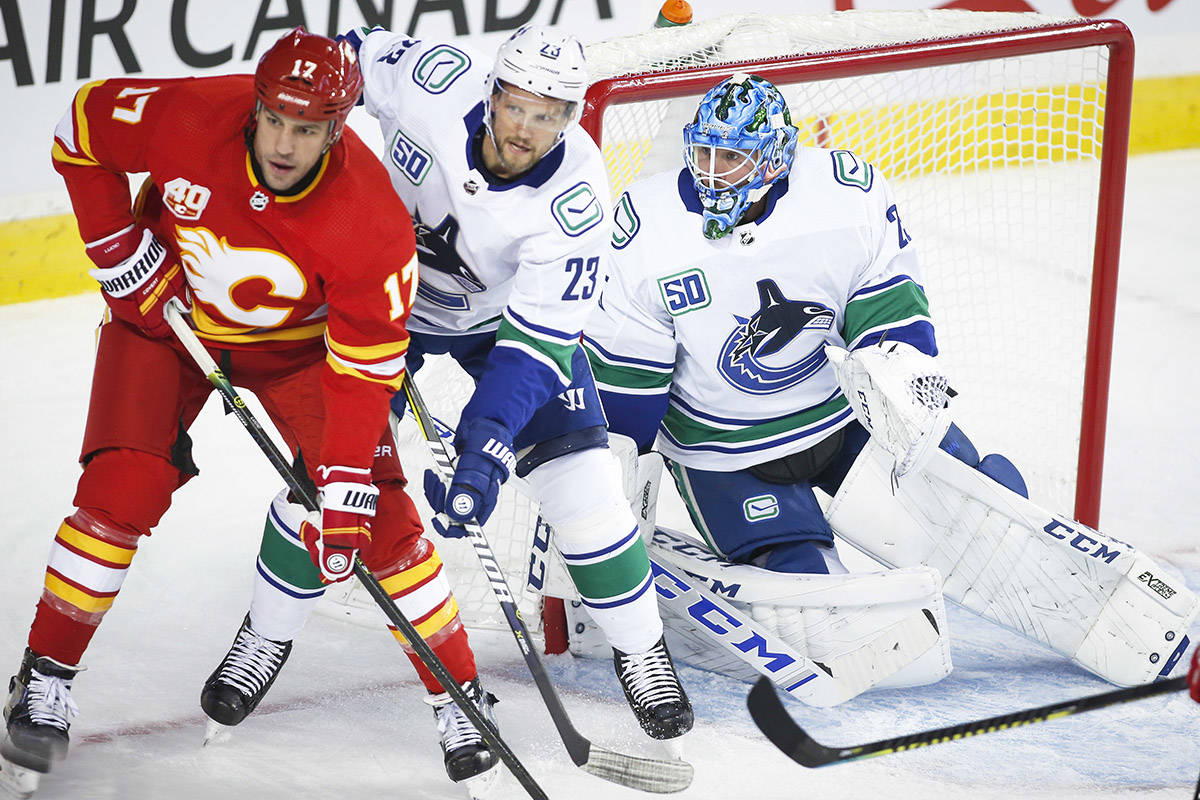 Canucks Hand Flames Fourth Straight Loss At Home 660 News
