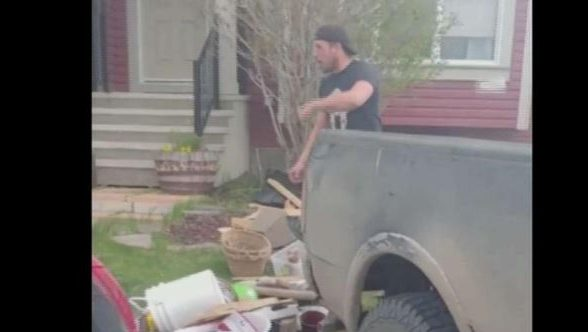 Man returns trash found on his rural property at Calgary home, fined for illegal dumping