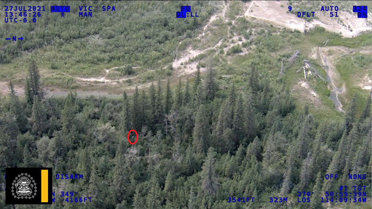 Calgary police locate missing hiker in Weaslehead Flats